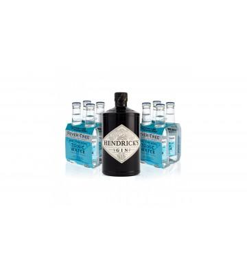 Hendrick´s Gin 0,7l 41,4% Akční balení s 8x Fever Tree zdarma