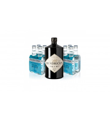 Hendrick´s Gin 1l 41,4% Akční balení s 8x Fever Tree zdarma