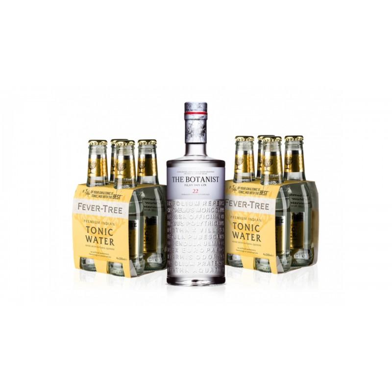 The Botanist Islay Dry Gin 0,7l 46% Akční balení s 8x Fever Tree zdarma
