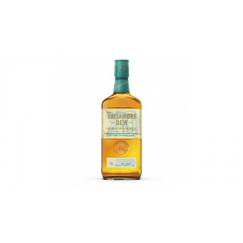 Tullamore D.E.W. XO Rum Cask 0,7l 43% s personalizovanou etiketou