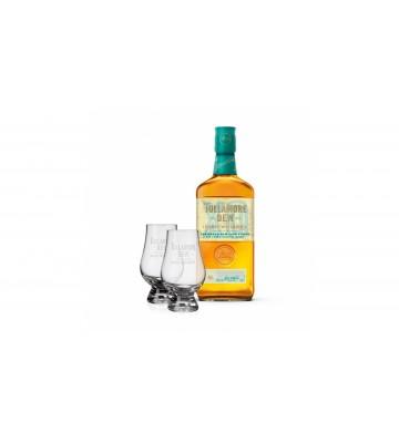 Tullamore D.E.W. XO Rum Cask 0,7l 43% se sadou degustačních skleniček zdarma