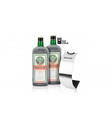 2x Jägermeister 1,75l 35% se stojanem na lahev