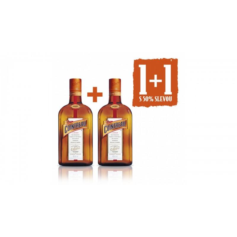 Cointreau 0,7l 40% Akce 1+1 s 50% slevou na druhou láhev