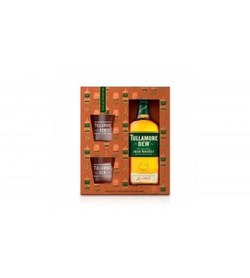 Tullamore D.E.W. 0,7l 40% dárkové balení se dvěma skleničkami