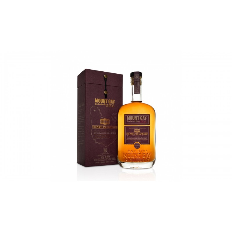 Mount Gay The Port Cask Expression 0,7l 55%