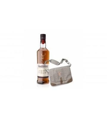 Glenfiddich 15 YO 0,7l 40% s originální taškou přes rameno