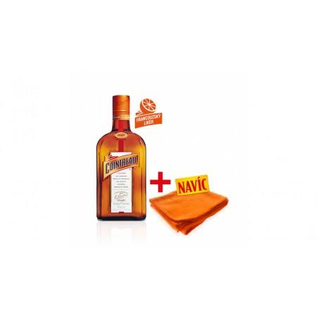 Cointreau 0,7l pomerančový likér  40% + deka navíc