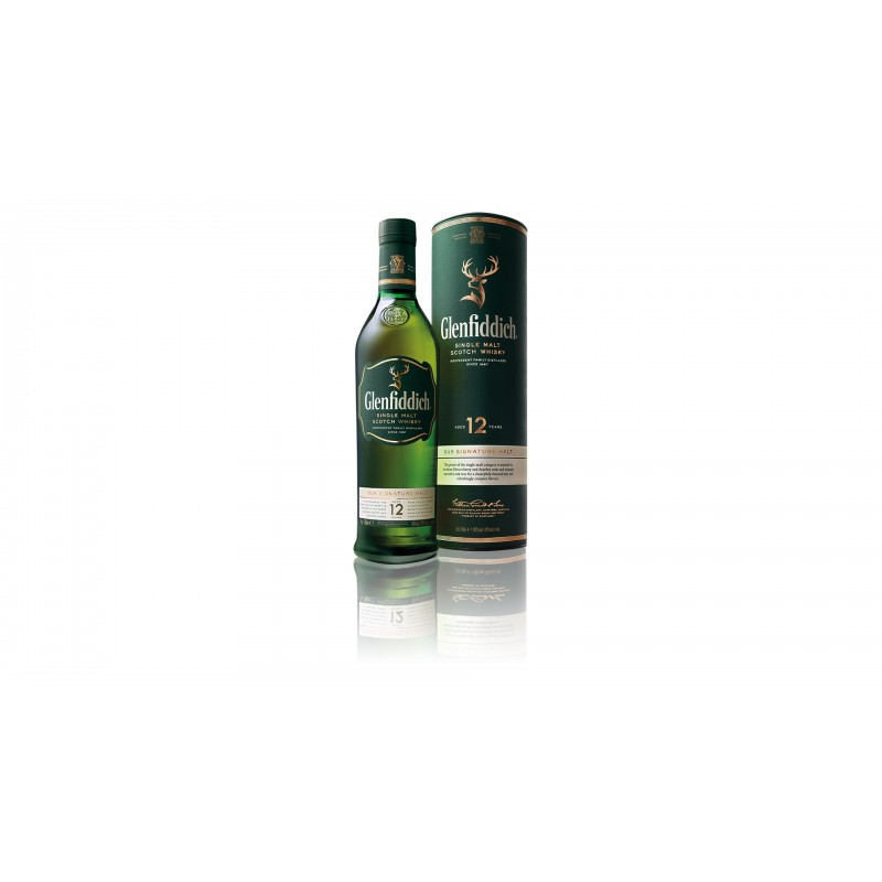 Personalizovaná láhev GLENFIDDICH 12YO 0,7l 40%