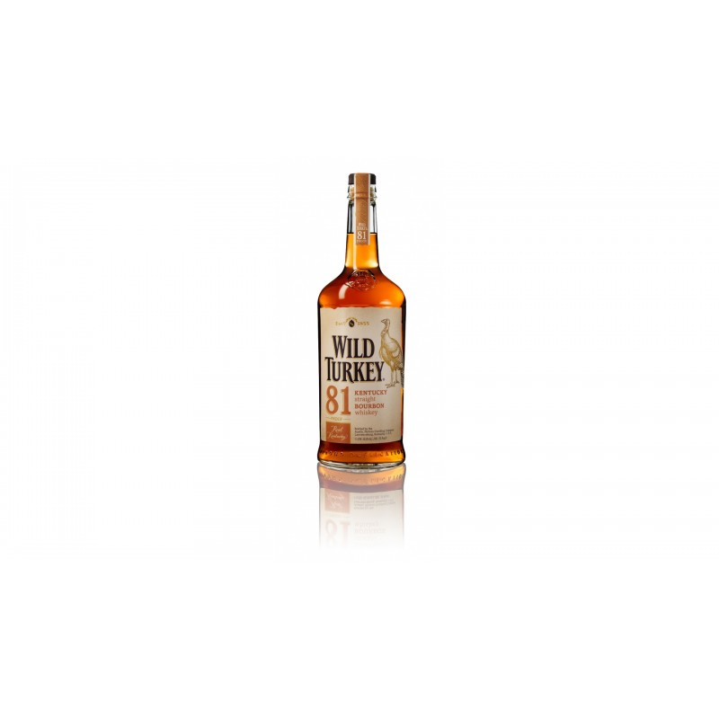 Wild Turkey 81 Proof 0,7l 40,5%