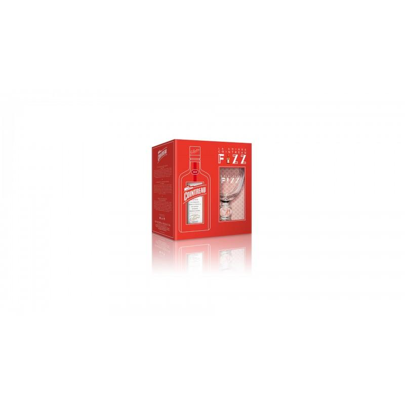 Cointreau dárkové balení se skleničkou 0,7l 40%