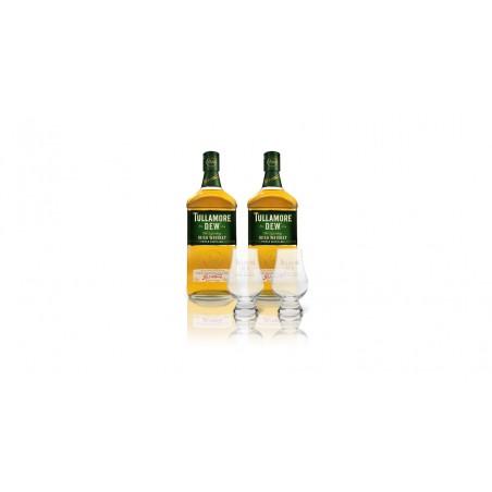 Akční set 2x Tullamore DEW 0,7l 40% + 2 skleničky TD Tumbler