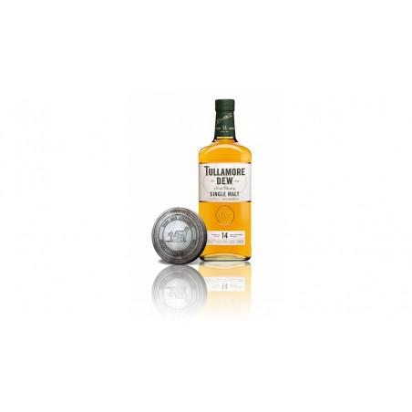 Tullamore DEW 14 YO Single Malt 0,7l 41,3% Akce se sběratelskou mincí