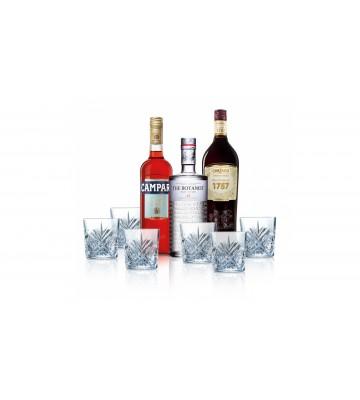 Set NEGRONI s 6 skleničkami zdarma